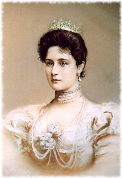 Императрица Александра Федоровна, жена Николая I