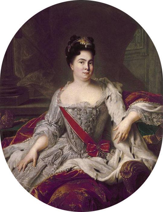 Екатерина I Алексеевна, до принятия православия Марта, императрица и самодержица всероссийская