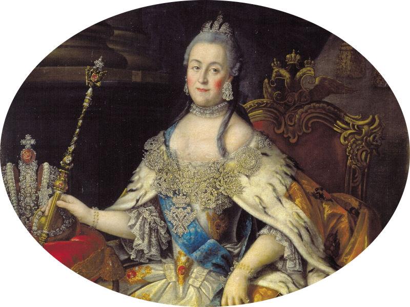 Екатерина II Алексеевна, императрица и самодержица всероссийская