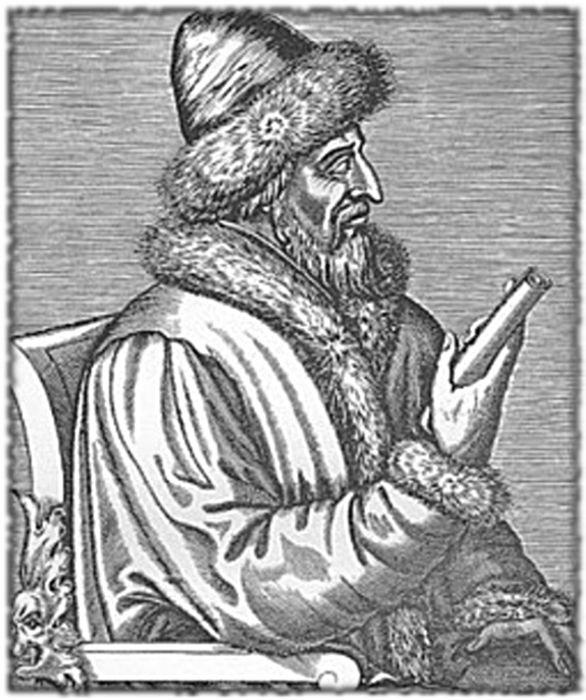 Василий III Иванович, в св. крещении Гавриил (в иночестве Варлаам), великий князь московский и всей Руси